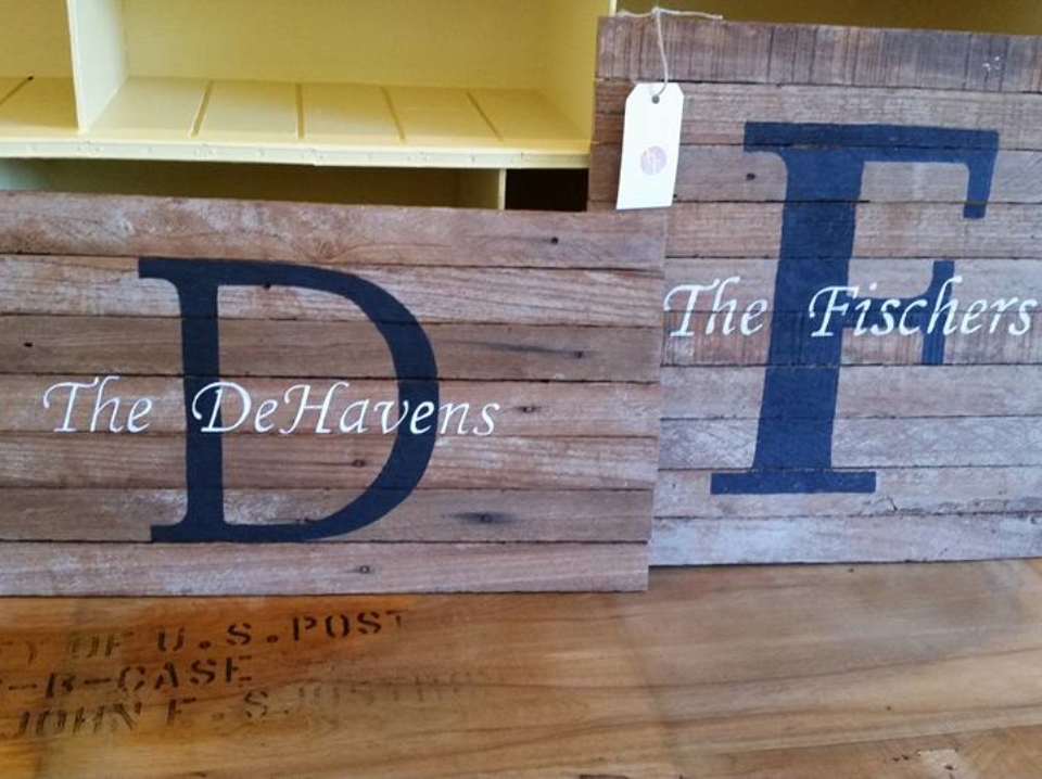 Personalized Family Boards